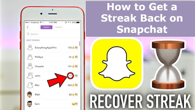 How to Get a Streak Back on Snapchat After You Lose It (NEVER LOSE STREAK AGAIN)