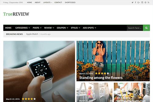 TrueReview By Theme-junkie - WordPress Premium Themes Free Download