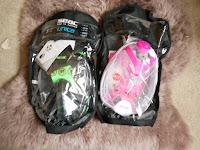 snorkel mask in bag