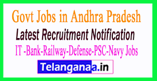 Latest Andhra Pradesh Government Job Notifications