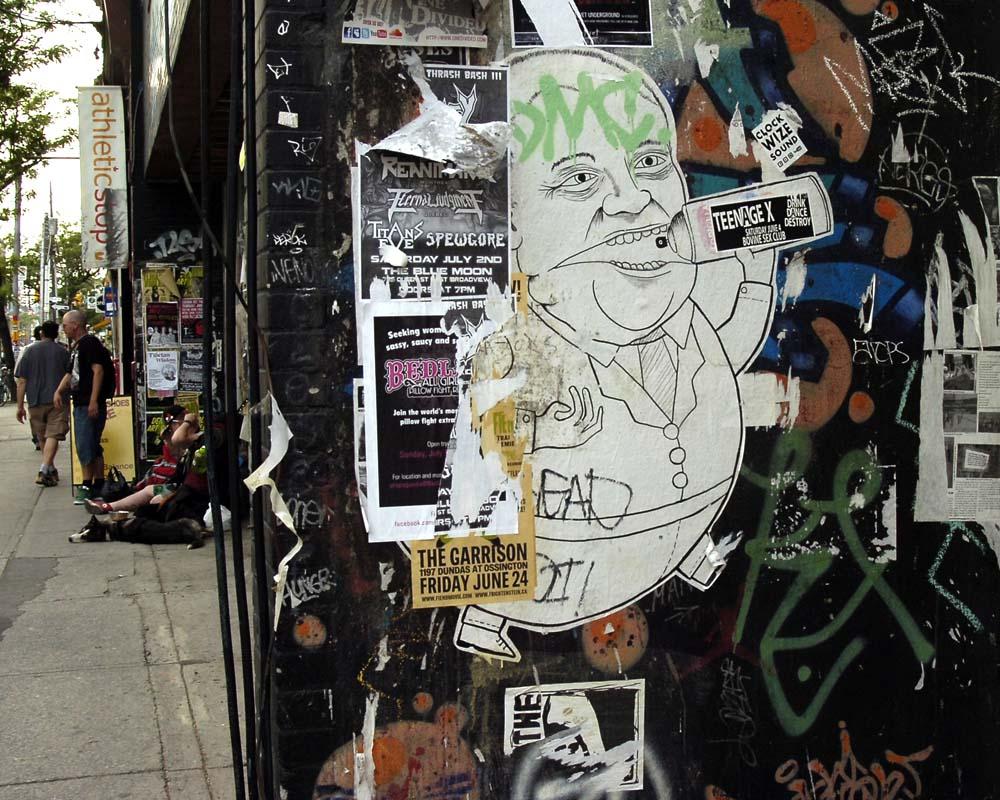 Toronto Grand Prix Tourist A Toronto Blog Graffiti And Ford A Toronto Blog