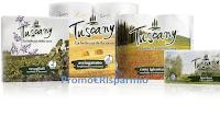 Logo Tuscany #Condividiamobellezza : vinci gratis Kit di prodotti, Weekend in Toscana e non solo
