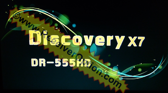 DISCOVERY X7 DR-555HD RECEIVER NEW SOFTWARE WITH ECAST OPTION