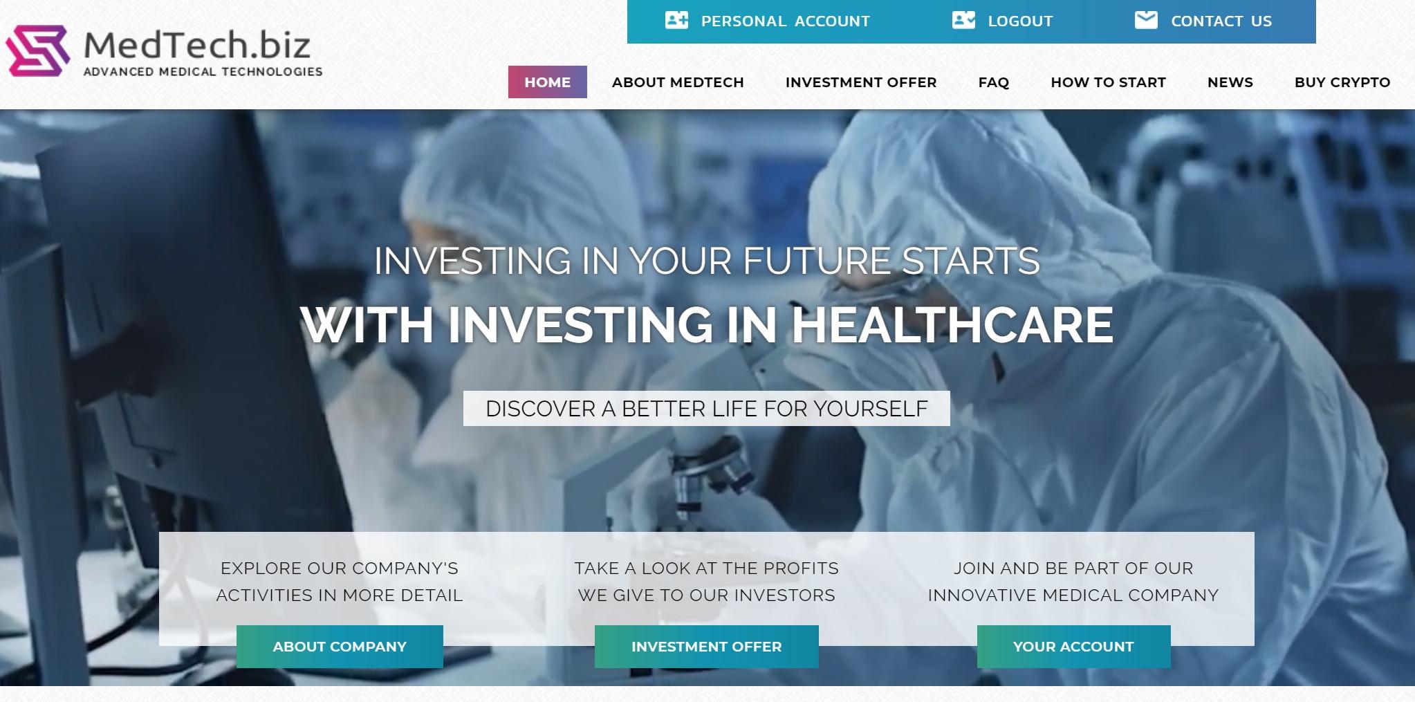review hyip : medtech.biz