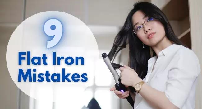 flat iron mistakes