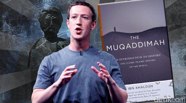 Terpesonanya Pendiri Facebook Mark Zuckerberg Terhadap Buku 'The Muqaddimah' Karya Ibnu Khaldun