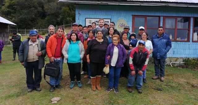 Constituyeron agrupación de Turismo en Caleta Huellelhue