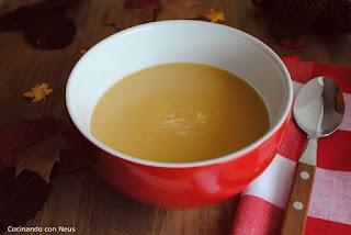 Sopa de calabaza y boniatos de Nigella Lawson