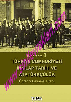 8. Sınıf İnkılap Tarihi Tuna Matbaa Yayınları Çalışma Kitabı Cevapları