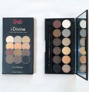Sleek MakeUP i-Divine Au Naturel Eyeshadow Palette