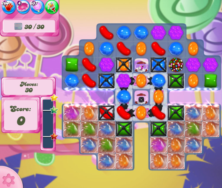 Candy Crush Saga level 2606