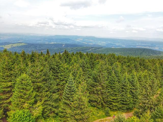 zielone płuca Polski, Zieleniec, narty, wspinaczka