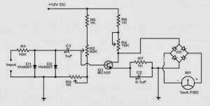 schema Tachymètre électronique