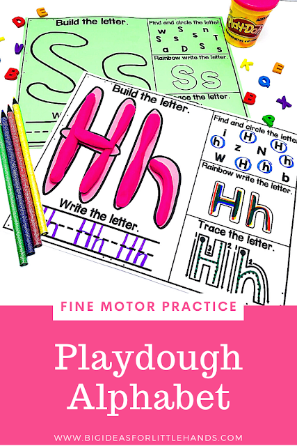 https://www.teacherspayteachers.com/Product/Playdough-Alphabet-Letters-Mat-4839931?utm_source=BIFLH%20Blog&utm_campaign=Alpha%20Fine%20Motor%20Playdough