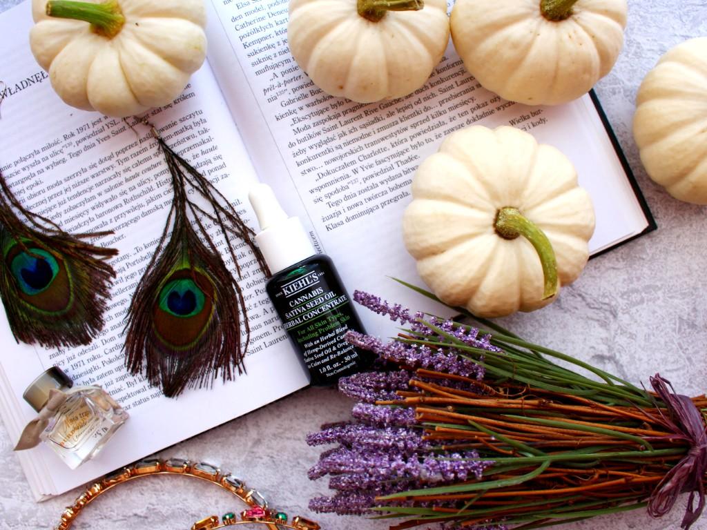 Pokonaj niedoskonałości czyli Kiehl's Cannabis Sativa Seed Oil Herbal Concentrate