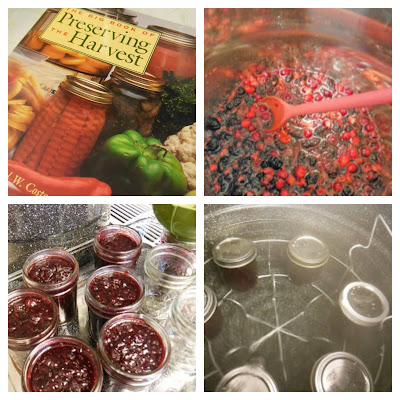 How to make Blackberry Cranberry and Pink Grapefruit Preserves.