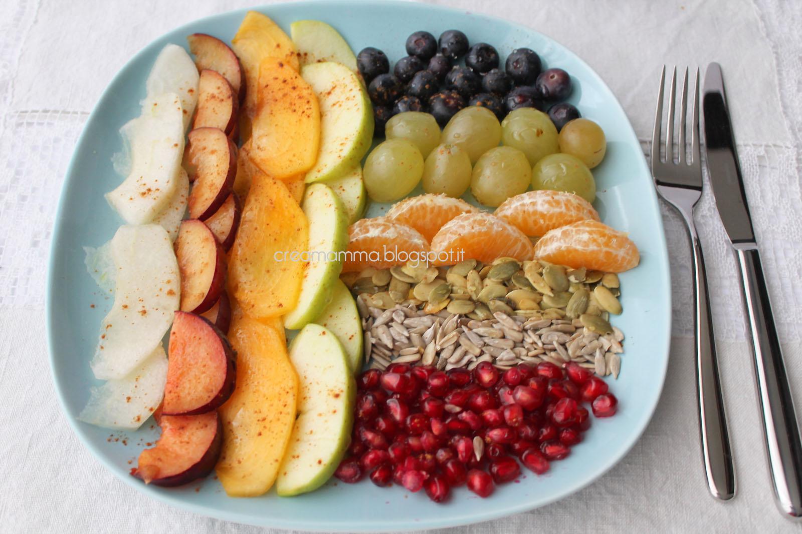 Famoso Diario di una Creamamma: Composizione di frutta autunnale con  MX29