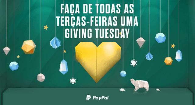 PayPal ultrapassou os 100 milhões de dólares em doações na Giving Tuesday
