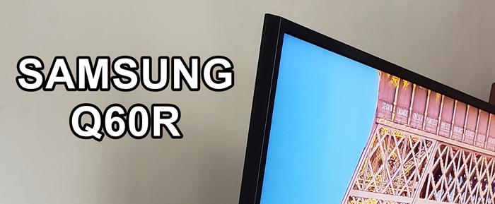 Samsung Q60R marcos o bordes