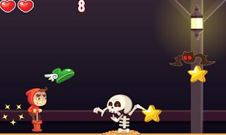 Jogue online Spooky Run Onduck Html5 games