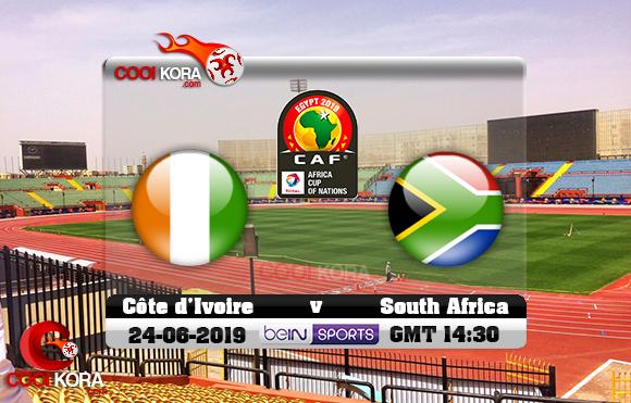مشاهدة مباراة كوت ديفوار وجنوب أفريقيا اليوم 24-6-2019 علي بي أن ماكس كأس الأمم الأفريقية 2019