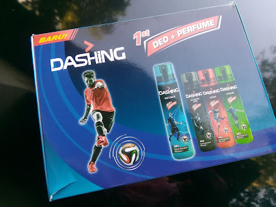 DASHING DEO DAN PERFUME BODY SPRAY  TERBARU