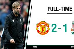 Cuplikan Gol Manchester United vs Liverpool 2-1