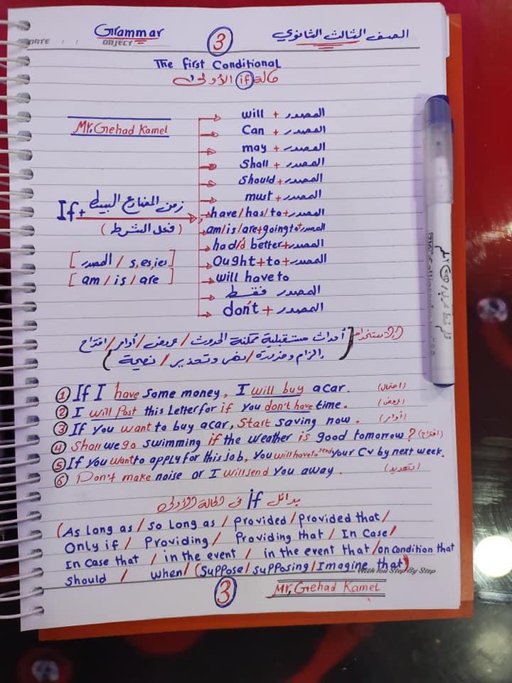 مراجعة اسلوب الشرط.. قاعدة if للصف الثالث الثانوي 3