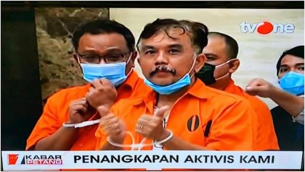 Kader Demokrat Tak Percaya Pernyataan Jokowi Sebelum Jumhur Dan Syahganda Dibebaskan
