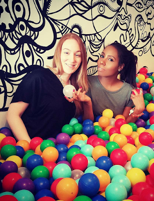 Ball pit, boxpark shoreditch, Michelle Louise Love