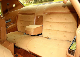 1974 Oldsmobile Toronado Landau Rear Seat Picture