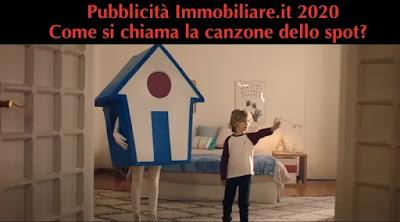 canzone pubblicità immobiliare.it 2020 con il bambino biondo