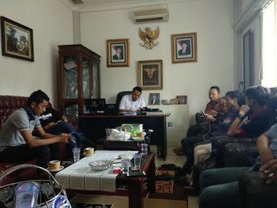 Wahrul Fauzi Dampingi Pers Laporkan Rakata ke Polda Lampung
