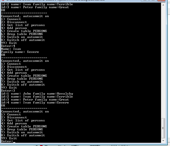 javahotel: Borland C++, BDE and HADR