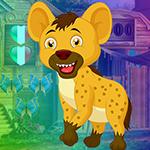 G4K Adorable Hyena Escape