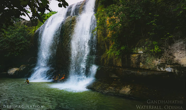 Gandahati Waterfall - Popular waterfall in Gajapati District