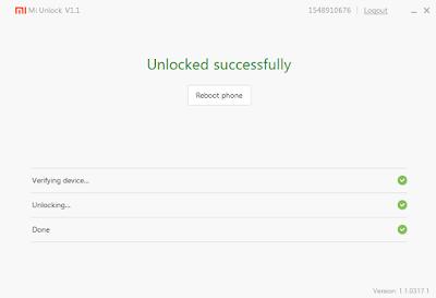 Tutorial Mudah Buka Kunci (Unlock) Bootloader Pada Xiaomi Mi 5