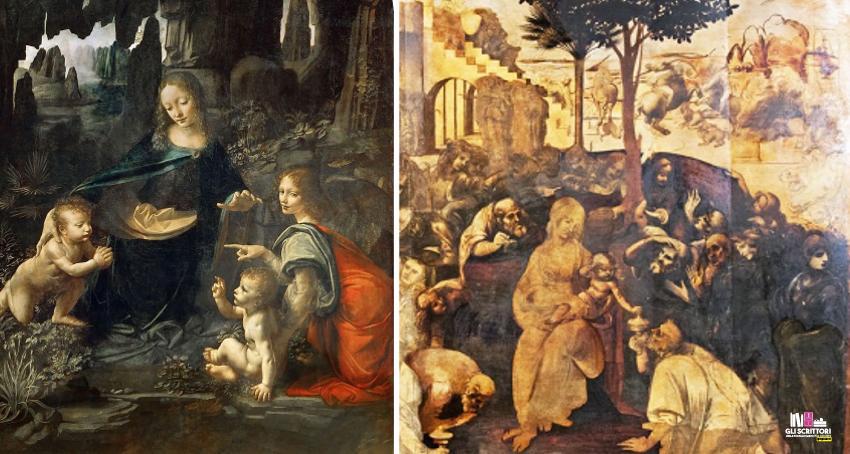 Vergine delle Rocce e l'Adorazione dei Magi.