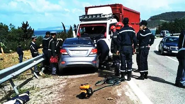 حادثة خطيرة ضواحي سيدي إفني تؤدي بحياة شخصين وإصابة خمسة آخرون