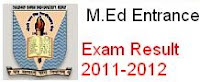 CCS University M.Ed entrance exam result out
