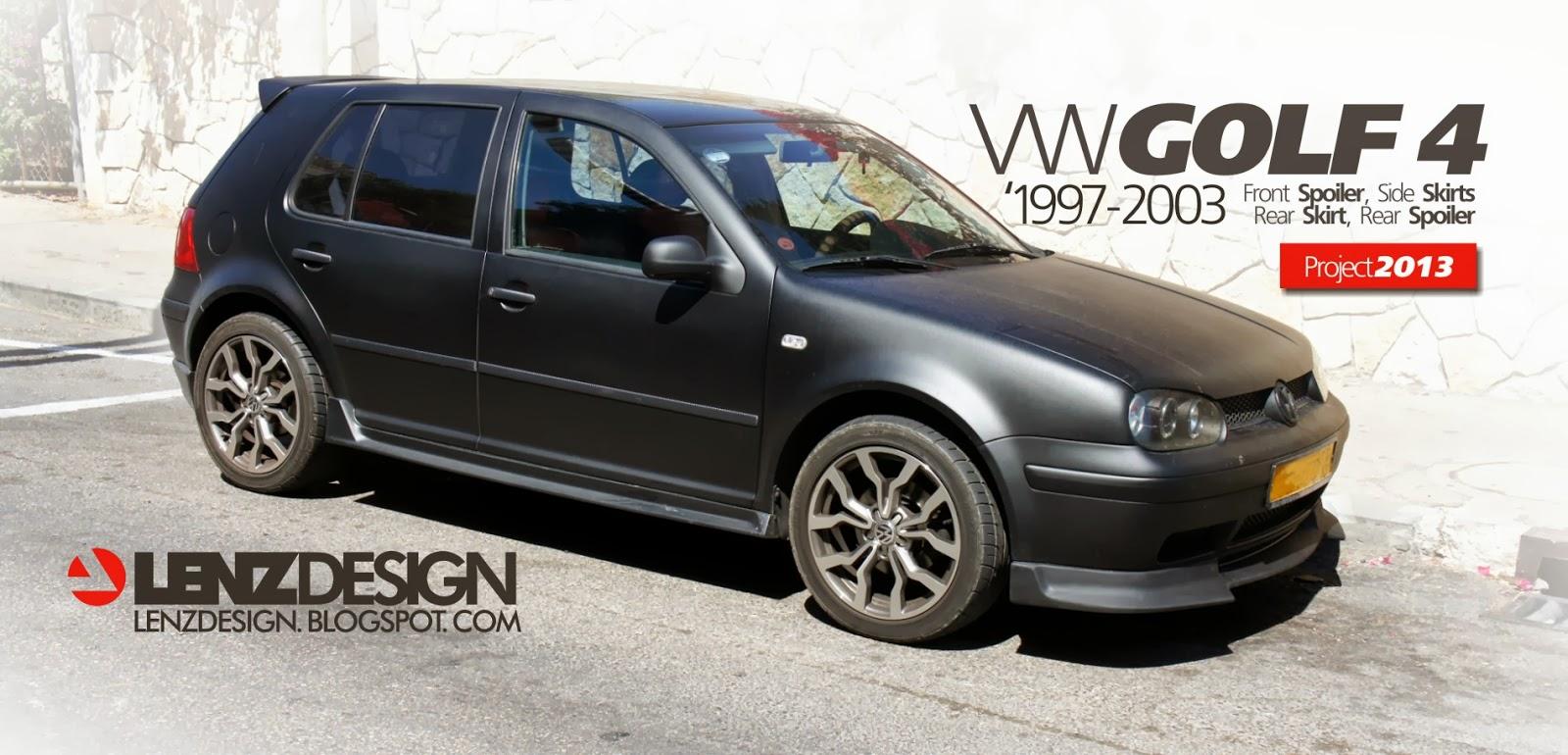 Auto Performance Shop >> VW Golf 4 Tuning Lenzdesign. שיפורים חיצוניים לרכב - Auto Cars Benz