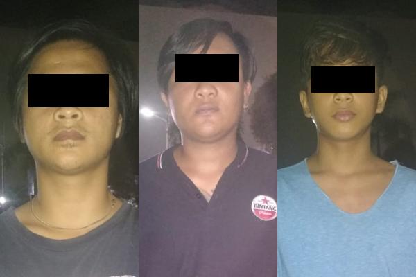 Polisi Amankan Tersangka Pengrusakan Mobil dan Pengancaman Andre Ricky Suwudi Wenang Utara.lelemuku.com.jpg