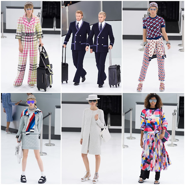 RUNWAY REPORT.....Paris Fashion Week: CHANEL Spring/Summer 2015 CHANEL Airport and Airlines Photos + Video!