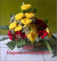 Bunga Krisan dan Gerbera Cantik