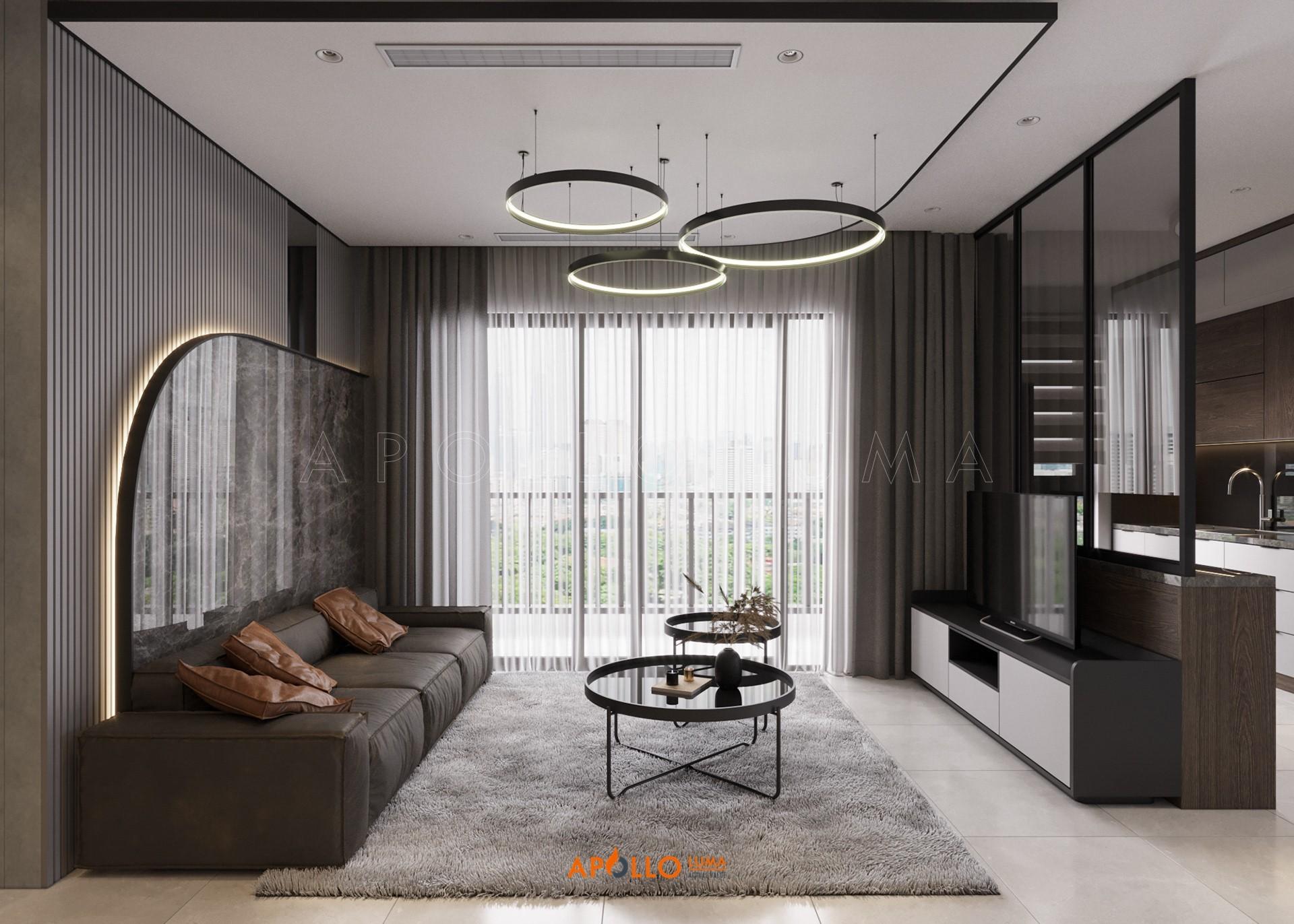 Thiết kế nộiaThiết kế nội thất căn 3PN (80m2) S3.03-15A Vinhomes Smart City Tây Mỗ thất căn 3PN (106m2) S3.03-15A Vinhomes Smart City Tây Mỗ