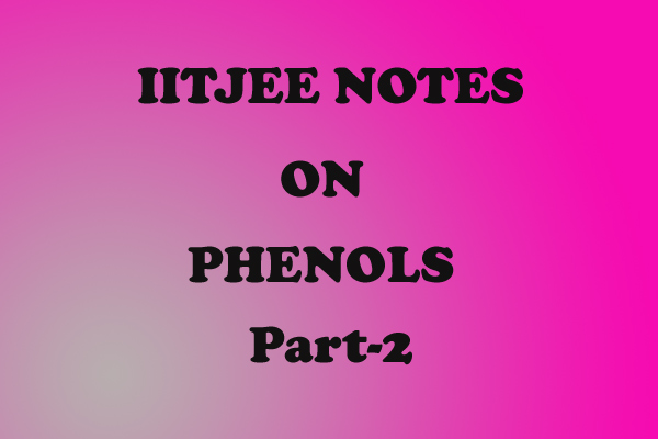 Phenol Notes