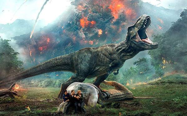 Review Kelebihan dan Kekurangan Jurassic World: Fallen Kingdom
