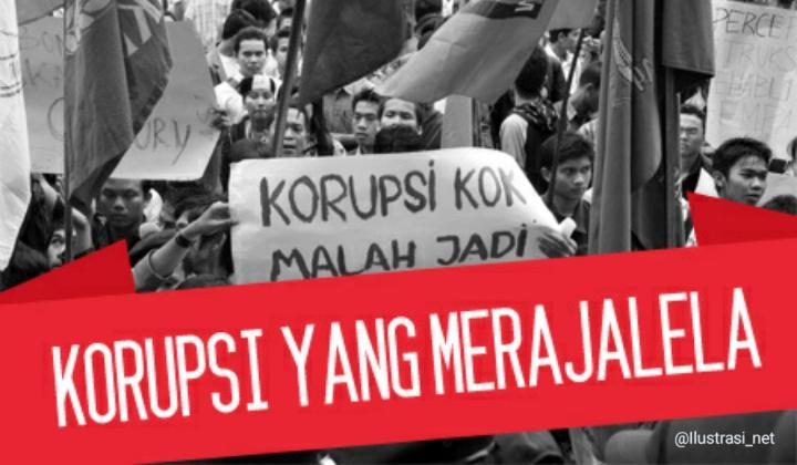 ICW: Sepanjang 2020 Ada 1.298 Terdakwa Kasus Korupsi, Kerugian Negara Capai Rp 56,7 Triliun