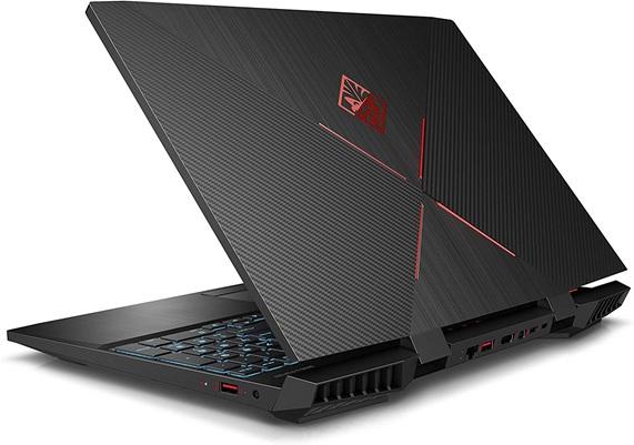 HP OMEN 15-dc1001ns: portátil gaming Core i7 con gráfica GeForce RTX 2070 (8 GB) y discos HDD + SSD