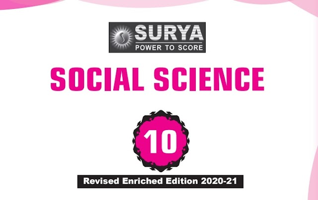 10th Std Social Science Surya Guide - Revised Edition 2020-2021 - Download Pdf
